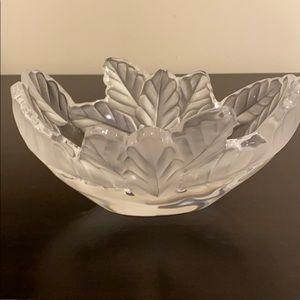 """Lalique 7"""" Oval Bowl"""